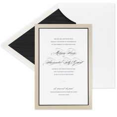Lovely layerd invitation from Checkerboard.  Contact Deborah at Invitationsbydeborah.com