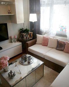 Köşe koltuk, Pembe, Salon, Sehpa, Tv ünitesi Bench, Cushions, Storage, Furniture, Home Decor, Homemade Home Decor, Decoration Home, Cushion, Larger