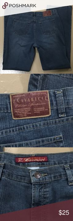 💙 Z Cavaricci bootcut women's jeans size 14 💙 Z Cavaricci women's jeans, size 14, in excellent preloved condition. More measurements upon request and are approximate. Bundle for more savings and I'm open to offers! Z Cavaricci Jeans Boot Cut