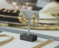 Susan Rockefeller mermaid earrings // 5% goes to Ocean Conservation
