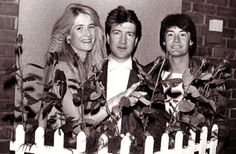 David Lynch with Laura Dern and Kyle MacLachlan