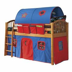 Alaterre Junior Loft Bed - wish I could get for my grandson!