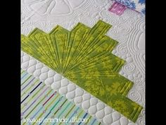 How To: Machine Quilting a Scalloped Border with the 4-N-1 machine ... : natalia bonner free motion quilting - Adamdwight.com