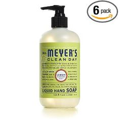 Mrs. Meyers Clean Day Lemon Verbena, best hand soap