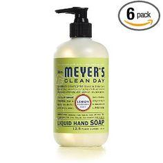 Mrs. Meyers Clean Day Lemon Verbena, best hand soap