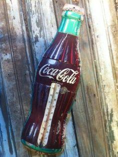 Vintage 1950s Coca Cola Thermometer