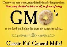 General Mills-NOT for your family!