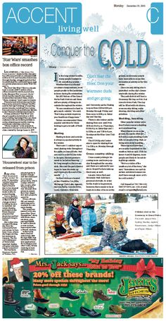December 21, 2015#GrandForksHerald #Newspaperdesign #JanelleVonasek