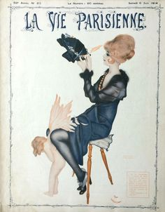 Raphaël Kirchner (1875 - 1917). La Vie Parisiene, 6 Juin 1914. [Pinned 12-vi-2016]