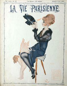 Raphaël Kirchner (1875 - 1917). La Vie Parisiene, 6 Juin 1914. [Pinned…