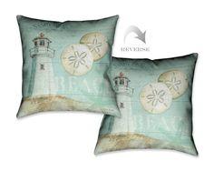 Beach House I Decorative Pillow – Laural Home