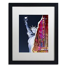 "Trademark Fine Art Liberty Night by Philippe Hugonnard Artwork, 16 by 20"", White Matte/Black Frame Trademark Fine Art http://www.amazon.com/dp/B0144NW7F4/ref=cm_sw_r_pi_dp_haN-vb0J6SQQ3"