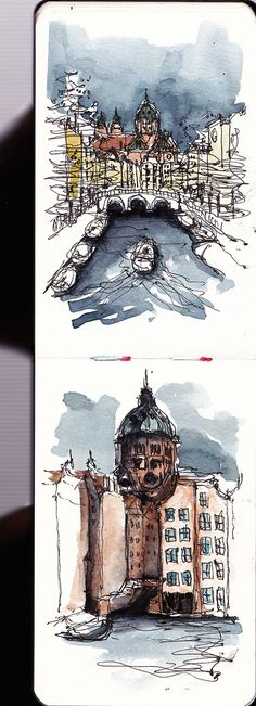 Amsterdam urban sketching - myMoleskine Community