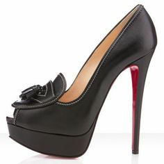 ▫◈▣◐◑‡➹ Christian Louboutin Alta Campus 150mm Black ,♥❤♥❤ #XMAS ☃☂☞