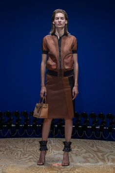 A look from the Reed Krakoff Spring 2015 RTW collection.