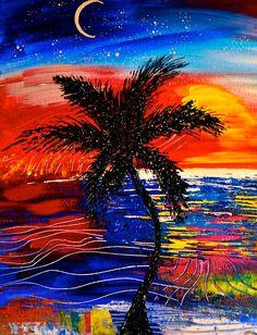 """Island Song""  Canvas: $100  Print: $25    www.artomurf.com  tymurf.tumblr.com  http://www.facebook.com/murf.murphy.7?ref=tn_tnmn"