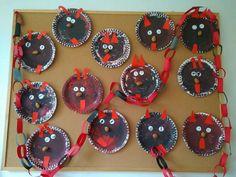 Chrismas Crafts For Kids, Christmas Crafts To Make, Yule, Kindergarten, Halloween, Winter Christmas, Carnivals, Basteln, Christmas