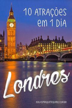 O que fazer em Londres: neste vídeo mostramos que é possível visitar A PÉ 10 das melhores atrações de Londres em 10 horas. Aperte o play e vem com a gente!