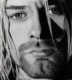 Kurt Cobain.  Love the emotion in those eyes!  (Risa Jenner, 2012)