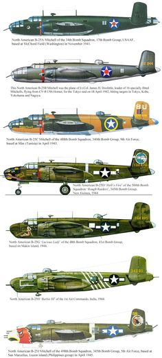 North American B-25 Mitchell, USA