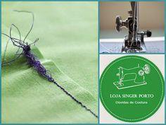 Reunimos aqui algumas dicas para dúvidas que surgem ao trabalhar com as nossas máquinas de costura.           O tecido não fica liso depois...