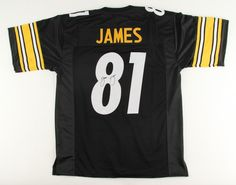 Jesse James Pittsburgh Steelers Hand Signed Jersey JSA Witnessed