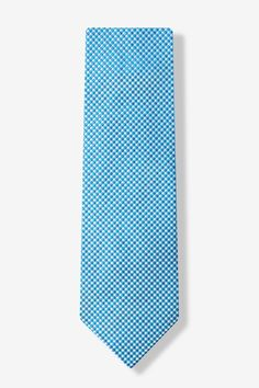 TURQUOISE TIE WITH HINTS OF PURPLE