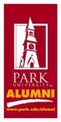 Park University Window Decal - request one from alumnioffice@park.edu