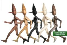 Pinocchio, United Colors of Benetton