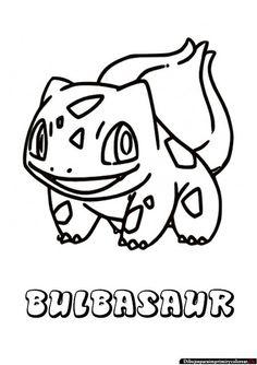 Clayton S Pokemon Adult Coloring Bulbasaur