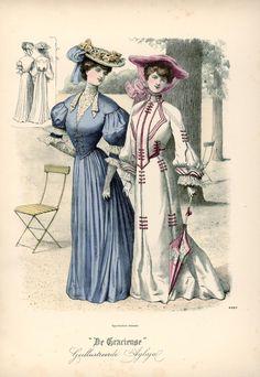 [De Gracieuse] Wandeltoiletten (July 1904)