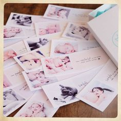Baby inspiration cards