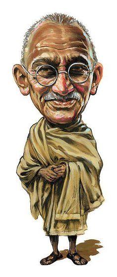 Mahatma Gandhi.  Saliendo del Maya