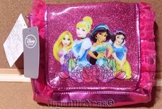 New Japan Disney Store Glitter & Lace Childrens Princess Shoulder Bag Purse #JapanDisneyStore