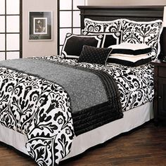 "Black and White Bedding - for a little ""drama"" in the bedroom?"