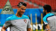 Cristiano Ronaldo's new haircut might be Illuminati | TOOVIA