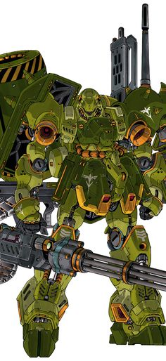 AMS-119 Geara Doga by: 人間プラモ