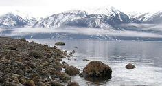 Alaska :) where it's cold and pretty
