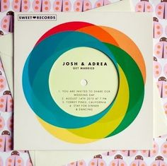 exPress-o: Retro Wedding Invitations
