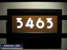 Address Led Illuminated Street Signs Are Constructed Of Aluminum With Stainless Steel Hardware To Ensure Long Lasting Durability