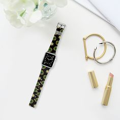 emerald and stars watch band - Bracelet Casetify