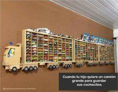 Camion para guardar carritos