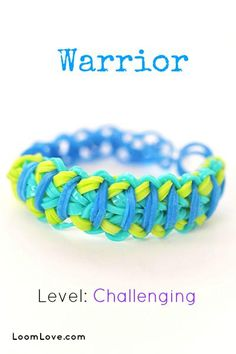 warrior rainbow loom  please repin and leave  a comment http://www.amazon.com/Loom-Rubber-Bands-Rainbow-Compatible/dp/B00G0YV8CO/ref=sr_1_275?s=toys-and-games&ie=UTF8&qid=1389478289&sr=1-275&keywords=loom+bands