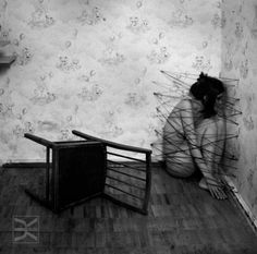 The dream is a series of images, which are apparently contradictory and nonsensical, but arise in reality from psychologic material which yields a clear meaning. Conceptual Photography, Dark Photography, Creepy, Scary, Art Plastique, Macabre, Dark Art, Oeuvre D'art, Dark Side