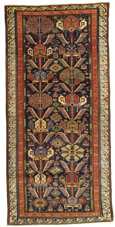 A SEYCHOUR LONG RUG, NORTHEAST CAUCASUS