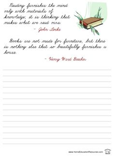 FREE 18-page cursive handwriting worksheet packet -- Quotes in Cursive -- easy to download at PrintableCursive.com