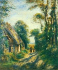 Near Berneval - Pierre Auguste Renoir - The Athenaeum