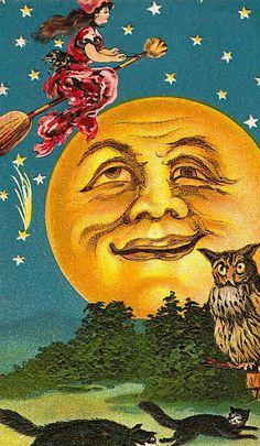 Halloween..I love the Moon