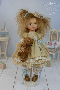 Купить Алиса .Авторская кукла - куклы, коллекционная кукла, кукла, текстильная кукла, авторская кукла