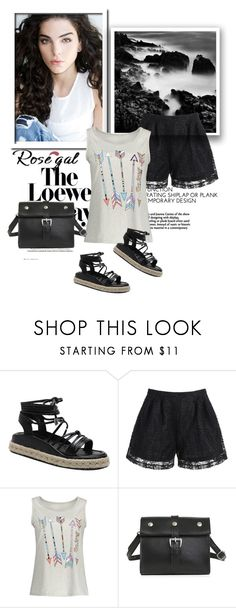 """Rosegal date outfit"" by newoutfit ❤ liked on Polyvore featuring Loewe, dress, women and rosegal"